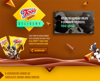 Toddy,PepsiCo,delivery,vaca,Toddy Snacks