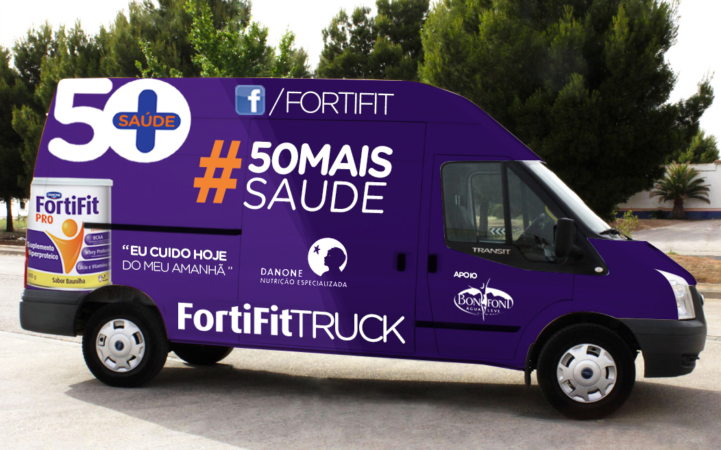 Danone, FortFit, FitTruck