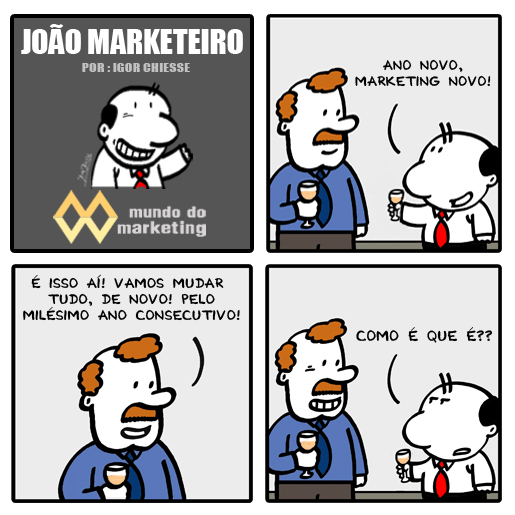 Ano Novo, Marketing Novo!