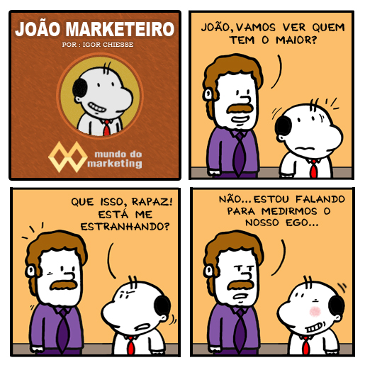 O Ego do profissional de Marketing