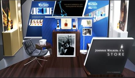 Johnnie Walker,pop-up stores,dia dos pais,shoppings,premium