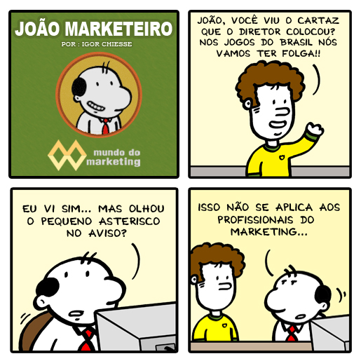 Profissional, Marketing, Copa do Mundo