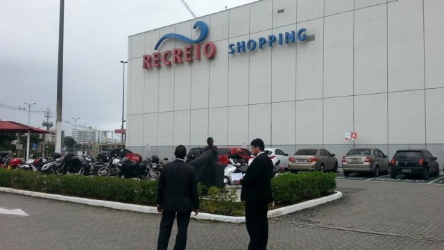 Recreio Shopping, estacionamento