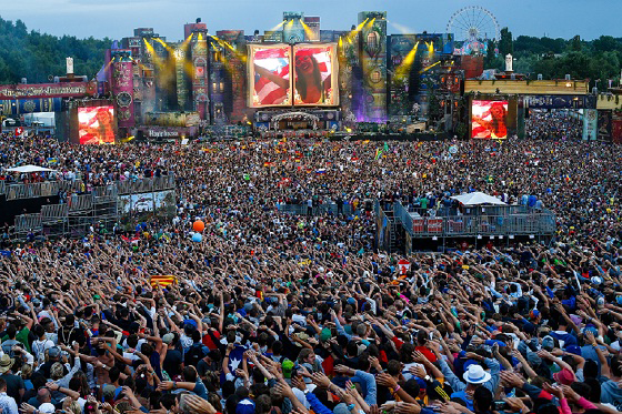 Tomorrowland, festival, música