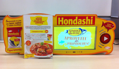 Ajinomoto,tempero,peixe,hondashi,Semana do Peixe,i-Shelf