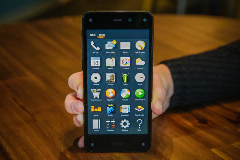 Amazon, Fire Phone, iPhone, Android, Samsung