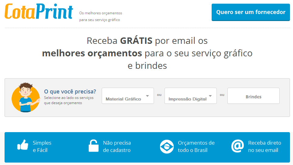 CotaPrint, Startup, Gráfica