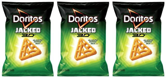 Frito-Lay, Doritos, Jacket 3D