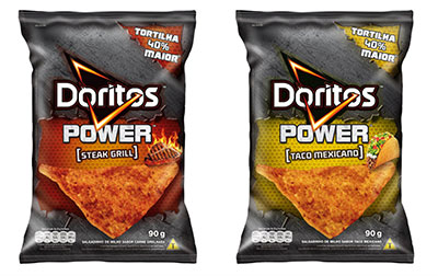 PepsiCo, Doritos, Doritos Power, tortilha