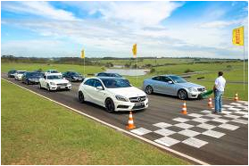 Mercedes-Benz,AMG Performance Tour 2013,relacionamento