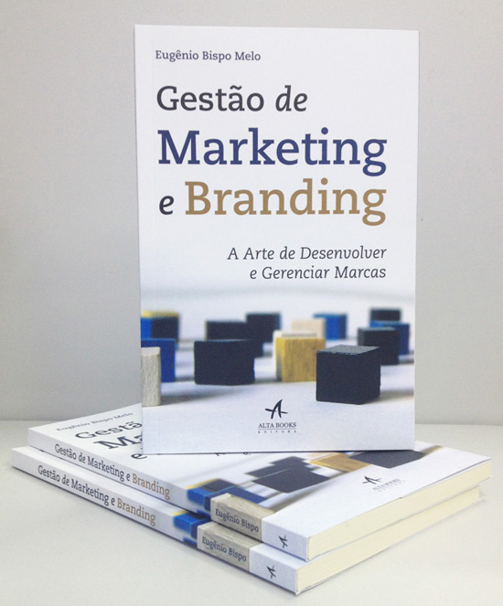 Livro, marketing, branding