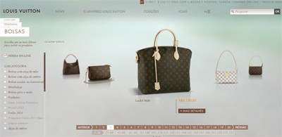 Louis Vuitton,e-commerce,brasil