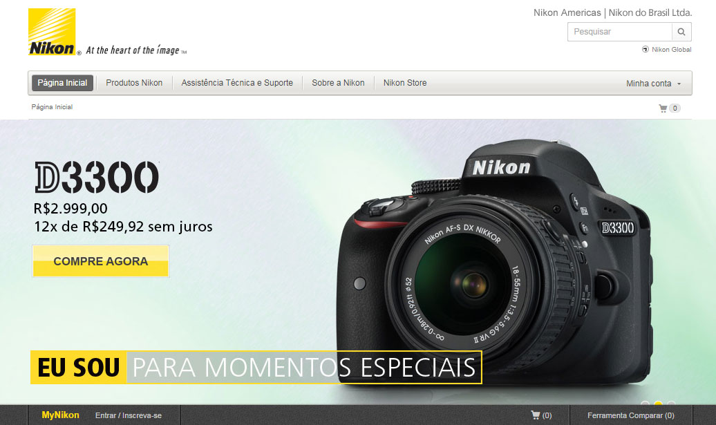 Nikon, e-commerce