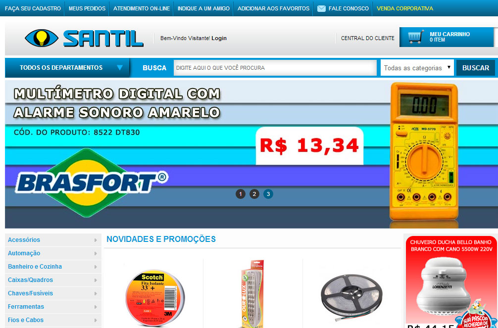 Santil, digital, e-commerce