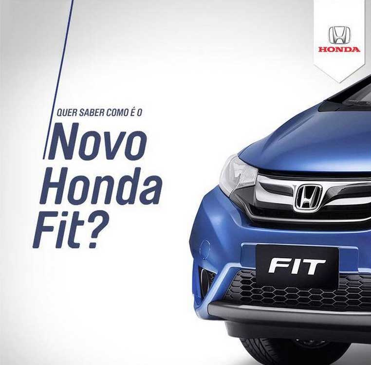 Honda, Fit, carro, ação, digital